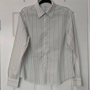 BROOKS BROTHERS 346 Striped Button Down